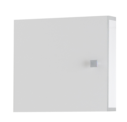 Eastbrook Splash of Colour White Plain Door Bathroom Cabinet 400 x 400
