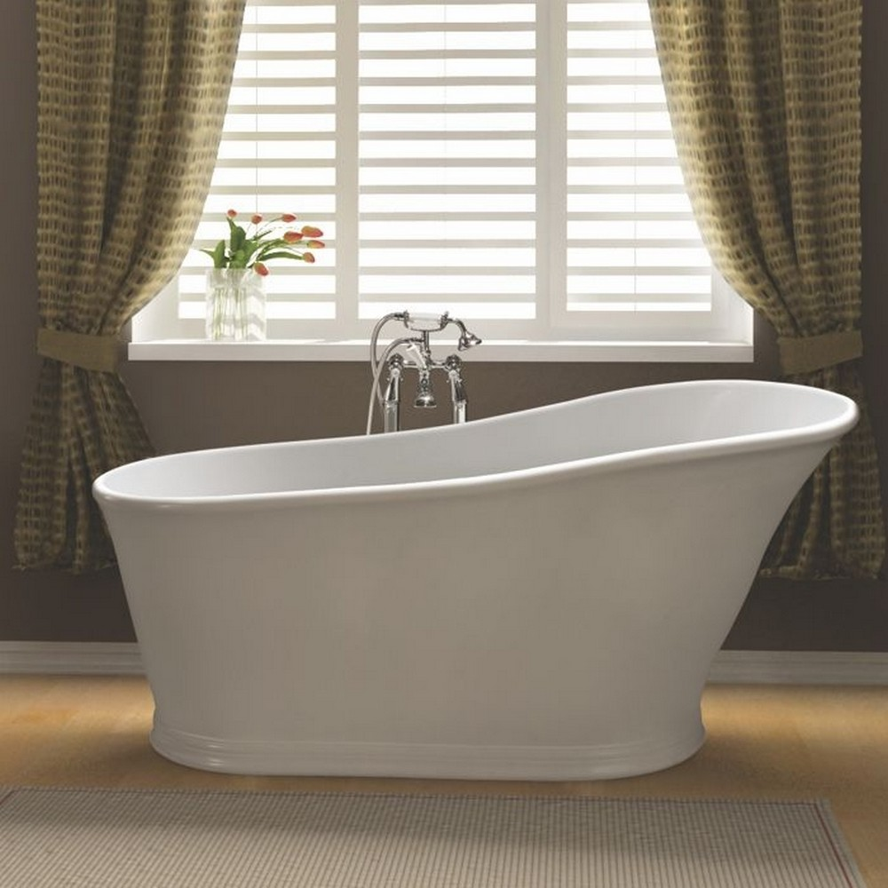 BC Designs Aurelius Slipper Cian Freestanding Bath 1598mm x