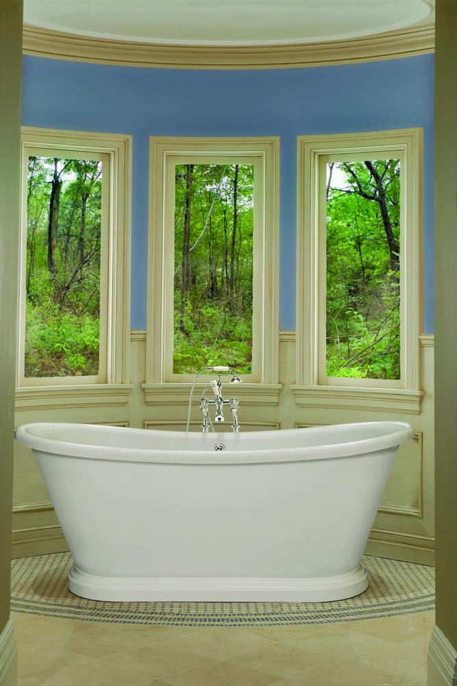 BC Designs Boat Acrylic Freestanding Bath 1800mm x 800mm