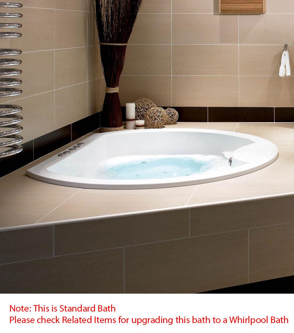 Corner Baths: Right & Left Hand Corner Baths, Offset Baths - Corner ...
