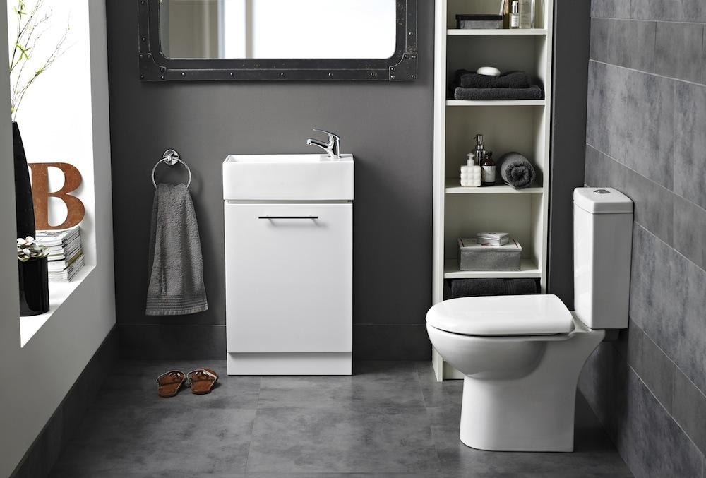 Charbon Suite - Complete Ensuite Bathroom including Toilet,