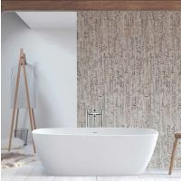 BC Designs VIVE Cian Solid Surface Freestanding Bath 1610mm x 750mm