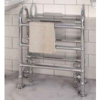 Eastbrook Painswick Chrome Traditional Heated Towel Rail 778mm x 686mm Central Heating