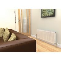 Prorad By Stelrad Type 22 Double Panel Double Convector Radiator 600mm H x 1200mm W - 2096 Watts