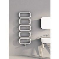 Carisa Talent Polished Stainless Steel Designer Heated Towel Rail 1300mm x 500mm