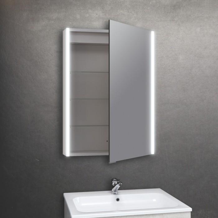 BC Designs Litestrip Aluminium LED Modern Bathroom Cabinet