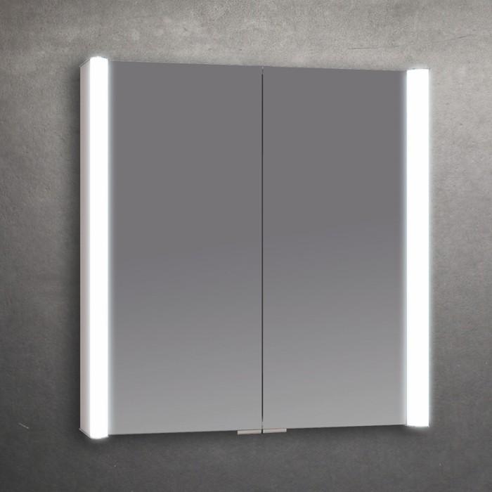 BC Designs Sabre Aluminium LED Modern Bathroom Cabinet 650mm