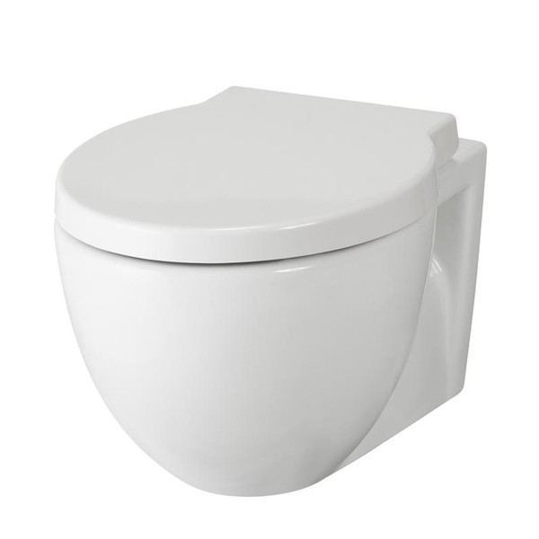 Premier Darwin Vitreous China Wall Hung Toilet Pan With