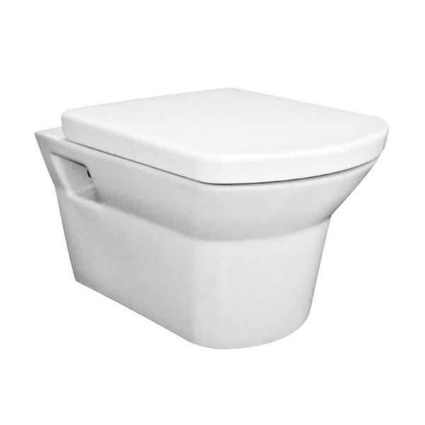 Premier Clara Vitreous China Wall Hung Toilet Pan Concealed
