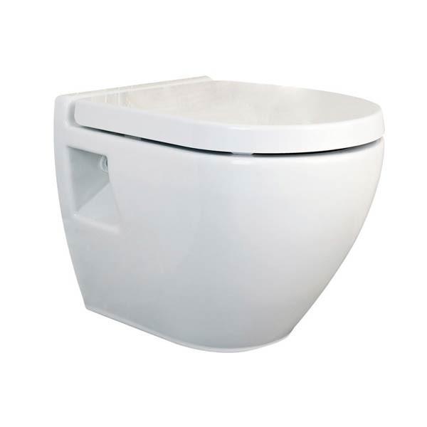 Premier Marlow Vitreous China Wall Hung Toilet Pan With