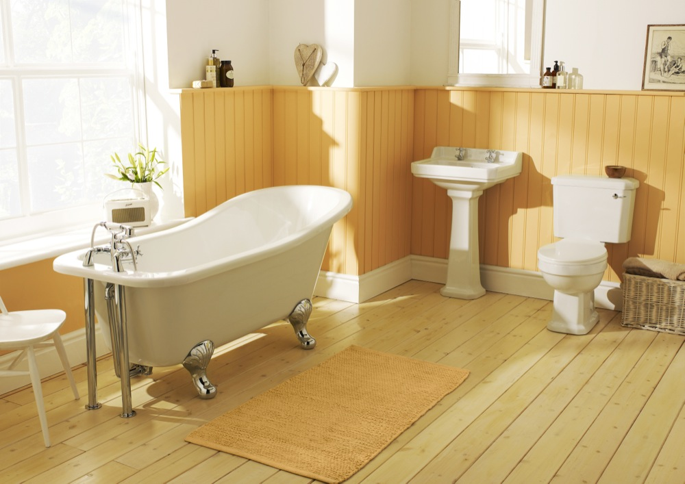 Peche Suite - Complete Traditional Bathroom Suite including