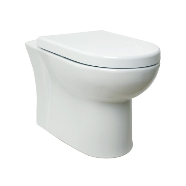 Kartell Woburn Ceramic Back To Wall Toilet WC Pan With
