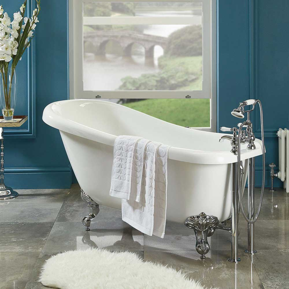 Phoenix Traditional Slipper Acrylic Freestanding Bath